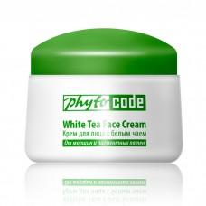 Антивозрастной крем для лица с белым чаем от морщин и пигментных пятен