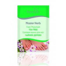 Солевая ванна для ног «Чайное дерево»,  Master Herb